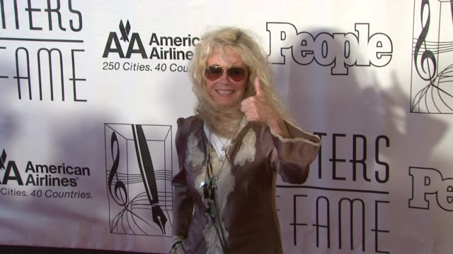 kim carnes at the songwriters hall of fame 2010 annual awards gala at new york ny - hall of fame stock videos and b-roll footage