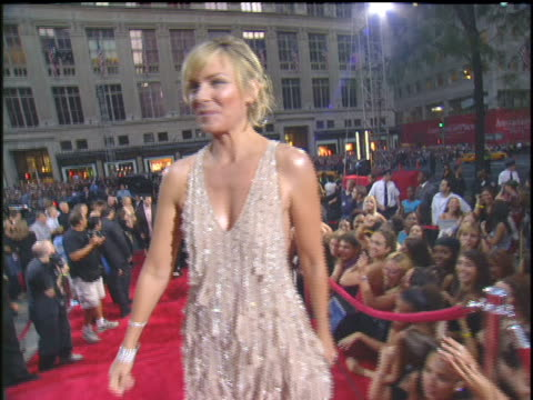 Kim Cattrall Arriving to the 2003 MTV Video Music Awards red carpet