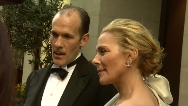 Kim Cattrall Simon Paisley Day at the 2010 Laurence Olivier Awards at London England