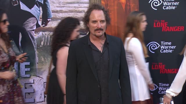 kim coates at the lone ranger los angeles premiere kim coates at the lone ranger los angeles premie at disney california adventure park on june 22... - the lone ranger 2013 film stock videos and b-roll footage