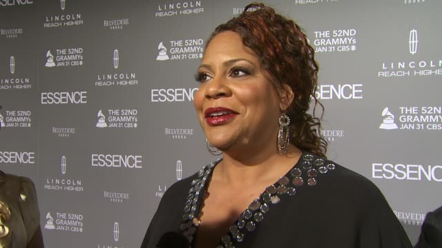 Kim Coles on Mary J Blige and on why Essence Magazine is so important at the ESSENCE Black Women In Music Honoring Mary J Blige at West Hollywood CA