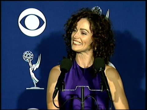 Kim Delaney at the 1997 Emmy Awards press room at the Pasadena Civic Auditorium in Pasadena California on September 14 1997