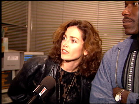 kim delaney at the nypd blue book signing at book soup in west hollywood california on november 6 1995 - book signing stock videos & royalty-free footage
