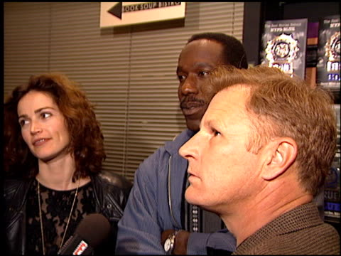 Kim Delaney at the NYPD Blue Book Signing at Book Soup in West Hollywood California on November 6 1995