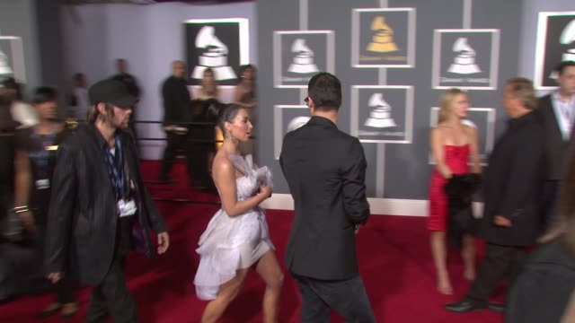 Kim Kardashian at the 51st Annual Grammy Awards at Los Angeles CA