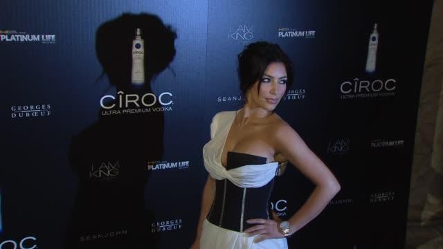 Kim Kardashian at the Ciroc Vodka Presents Sean 'Diddy' Combs' Birthday Celebration at New York NY
