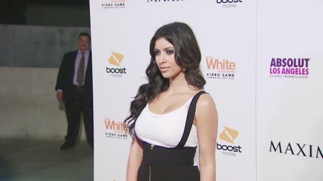 Kim Kardashian at the MAXIM'S EXTREME SPORTS PARTY at Los Angeles CA