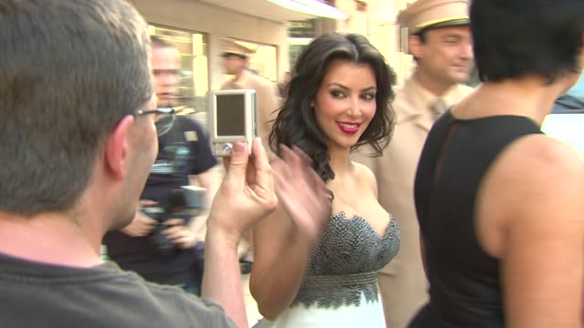 Kim Kardashian at the Monte Carlo Television Festival 2009 Day 3 Sightings at MonteCarlo