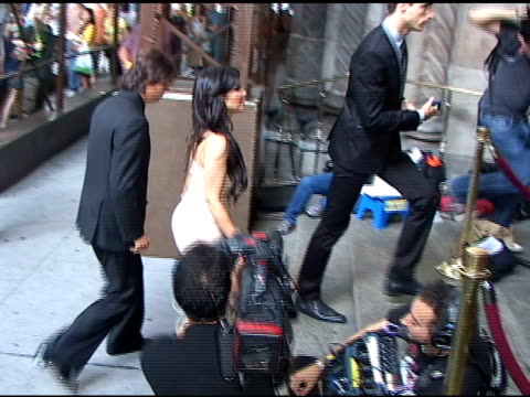 kim kardashian attending wedding at cipriani's 42nd street restaurant at the celebrity sightings in new york at new york ny. - マンハッタン チプリアーニ点の映像素材/bロール