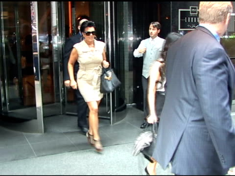 Kim Kardashian leaving the London Hotel in New York City at the Celebrity Sightings in New York at New York NY