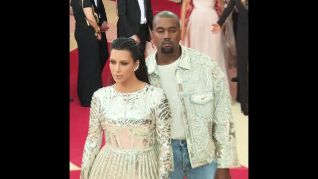 Kim Kardashian West and Kanye West at the Manus x Machina Fashion in an Age of Technology Costume Institute Benefit Gala Arrivals at Metropolitan...