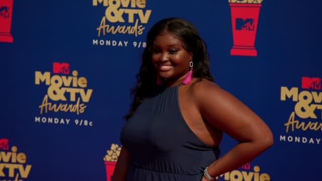 Kim Maina at the 2019 MTV Movie TV Awards at Barkar Hangar on June 15 2019 in Santa Monica California
