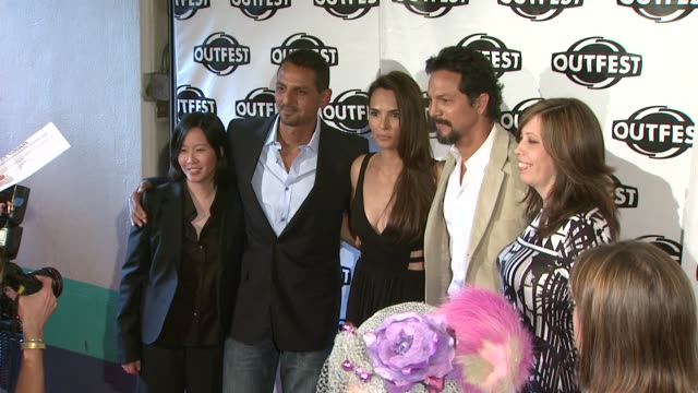 kim yutani peter bratt talisa soto benjamin bratt kirsten schaffer at the 2009 outfest opening night gala of 'la mission' at los angeles ca - benjamin bratt stock videos & royalty-free footage