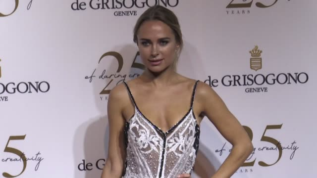 Kimberley Garner on the red carpet of De Grisogono Party in Cannes Cannes France on Tuesday May 15 2018