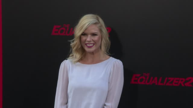 Kimberly Caldwell at the 'The Equalizer 2' Premiere at TCL Chinese Theatre on July 17 2018 in Hollywood California