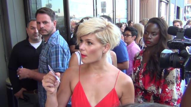 Kimberly Caldwell on American Idol outside The Pantages Theatre in Hollywood at Celebrity Sightings in Los Angeles Kimberly Caldwell on American Idol...