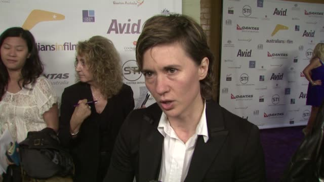 Kimberly Peirce on what Abbie Cornish brings to the screen at the Australians In Film '08 Breakthrough Awards at Los Angeles CA
