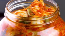 Kimchi Close up