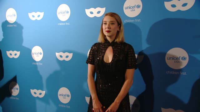 kimmy shields at sixth annual unicef masquerade ball 2018 in los angeles ca - shield stock videos & royalty-free footage