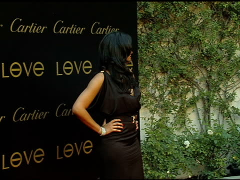 kimora lee at the cartier hosts the third annual loveday celebration at los angeles california - kimora lee simmons stock videos & royalty-free footage