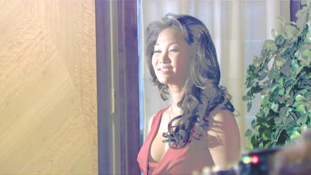 kimora lee simmons at the the 2007 aafa american image awards at the grand hyatt hotel in new york new york on may 14 2007 - kimora lee simmons stock videos & royalty-free footage