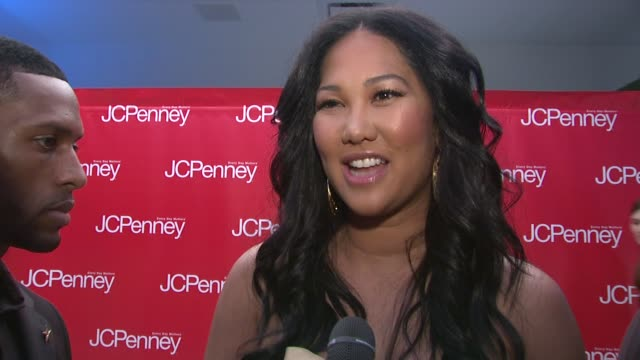 kimora lee simmons on how brands like fabulosity are helping jcpenney step up their style and her thoughts on the other designer collections at the... - kimora lee simmons stock videos & royalty-free footage
