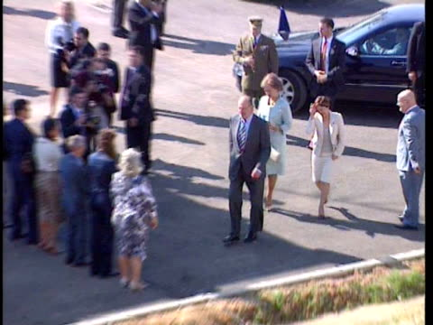 King Juan Carlos and Queen Sofia attend the opening of the Palmas Altas Technology Center in Seville Seville Spain