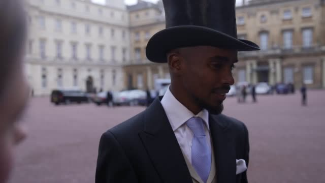 King of the track Sir Mo Farah has received his knighthood from the Queen describing the moment as 'incredible' and something he never imagined would...