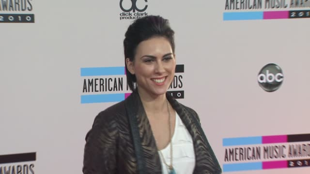 king queen at the 2010 american music awards arrivals at los angeles ca - american music awards stock videos and b-roll footage
