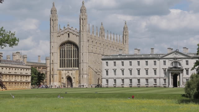 king's college, cambridge, cambridgeshire, england, uk, europe - cambridge university stock videos and b-roll footage