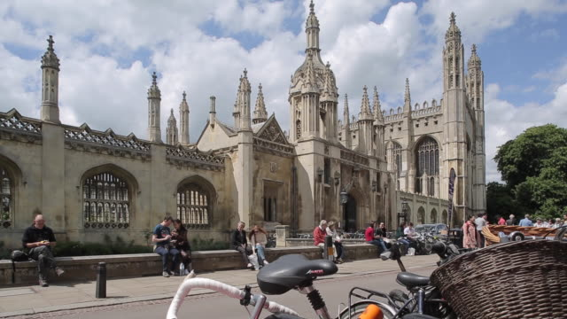 vídeos de stock, filmes e b-roll de king´s college chapel, cambridge, cambridgeshire, england, uk, europe - king's college cambridge