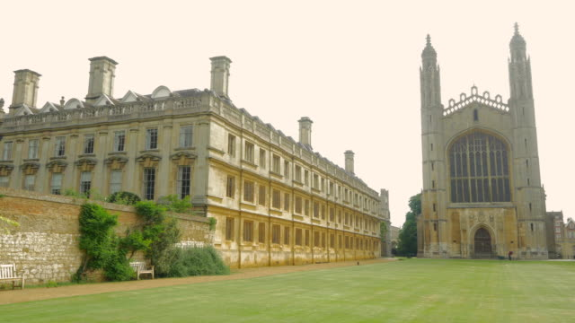 kings college,cambridge,ws - cambridge university stock videos and b-roll footage