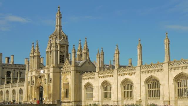 vídeos de stock, filmes e b-roll de kings college,cambridge,ms, - king's college cambridge
