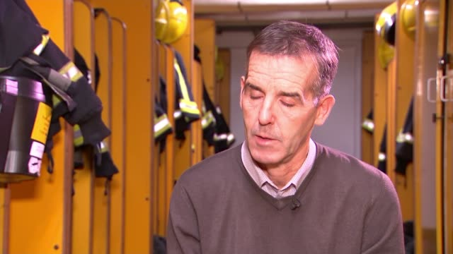 King's Cross fire 30th anniversary approaches ENGLAND London Soho INT Dave Flanagan interview SOT