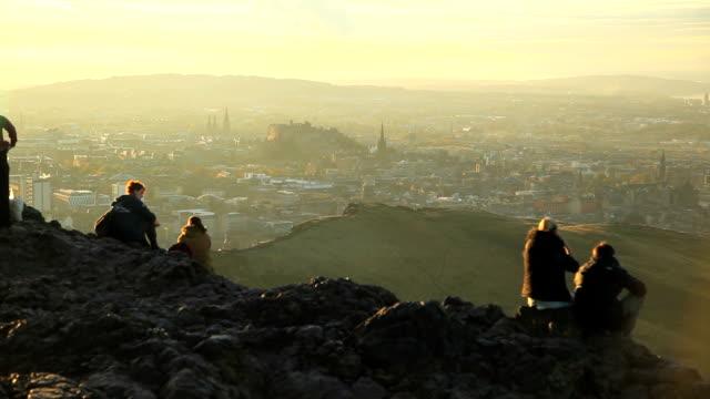 Kings seat Edinburgh