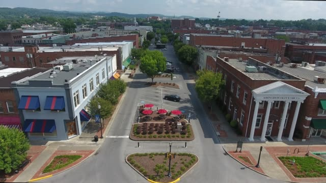 kingsport, tennesee - small town stock videos & royalty-free footage