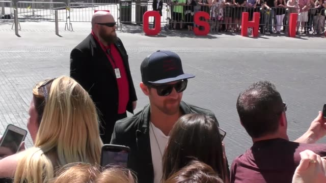 kip moore arriving to the 52nd academy of country music awards in celebrity sightings in las vegas - academy of country music awards stock videos & royalty-free footage