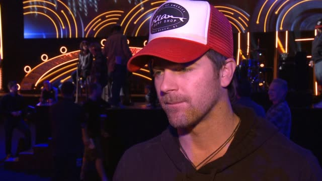 interview kip moore on headlining his first tour on 'pretty girl' going platinum this award show who he's excited to see at 2014 american country... - popular music tour stock videos and b-roll footage