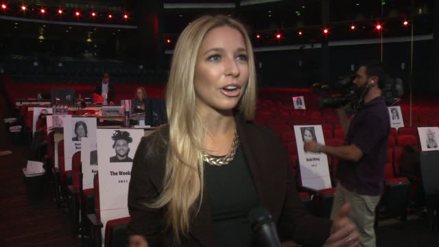 INTERVIEW Kira Kazantsev on being excited to host the AMA red carpet what makes the AMAs different from other award shows and who she is looking...