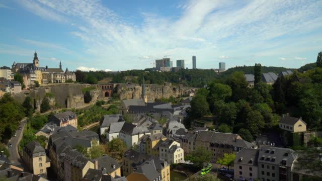 vidéos et rushes de kirchberg luxembourg - grand duché du luxembourg