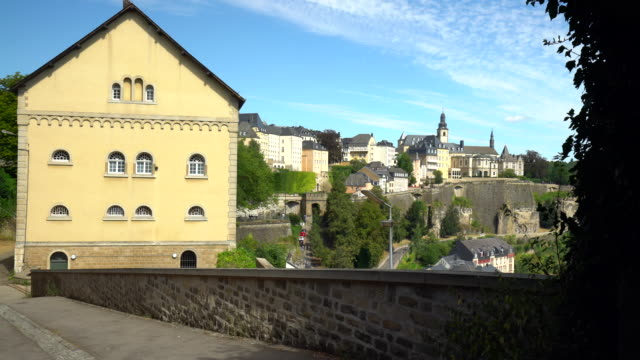 kirchberg luxembourg - luxembourg benelux stock videos & royalty-free footage