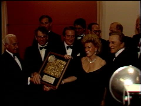 Kirk Douglas at the Scopus Award 1988 for Jerry Weintraub on January 17 1988