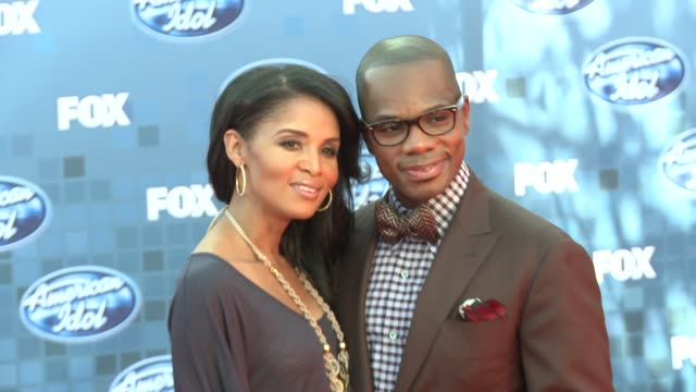 kirk franklin at the fox's 'american idol 2011' finale results show at los angeles ca - results show stock videos & royalty-free footage