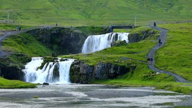 Kirkjufellsfoss waterval in IJsland