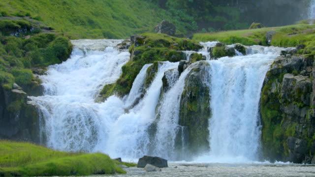 Kirkjufellsfoss Wasserfall in Island
