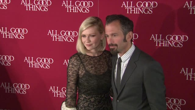 Kirsten Dunst and Andrew Jarecki at the 'All Good Things' New York Premiere at New York NY