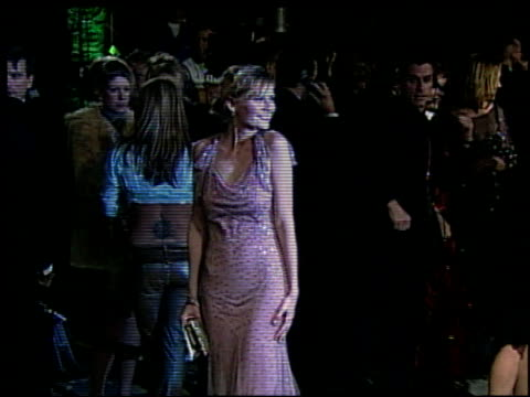 kirsten dunst at the 2002 academy awards vanity fair party at morton's in west hollywood california on march 24 2002 - オスカーパーティー点の映像素材/bロール