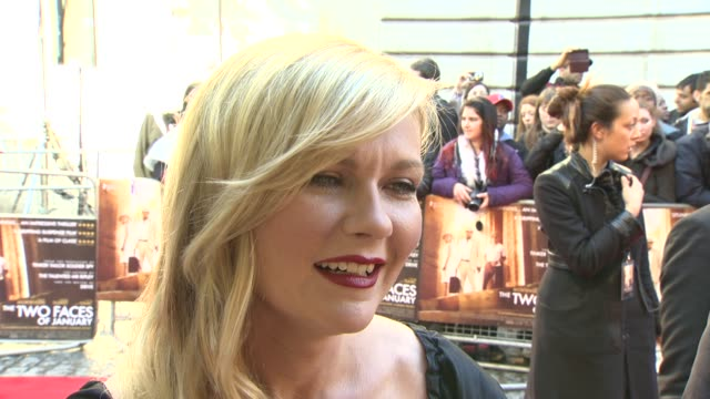 INTERVIEW Kirsten Dunst on staying grounded in Hollywood turning into a crazy cat lady and advice to Oscar going into a huge franchise like Star Wars...