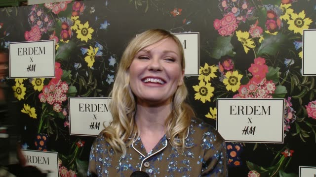 INTERVIEW Kirsten Dunst on why she wanted to support the Erderm x HM collaboration what she's expecting from the collection talks about her favorite...