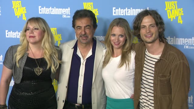 Kirsten Vangsness Joe Mantegna AJ Cook Matthew Gray Gubler at Entertainment Weekly's 6th Annual ComicCon Celebration Sponsored By Just Dance 4 on...